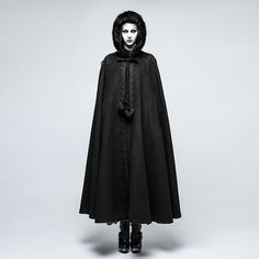 Punk Rave cape to look mesmerizing on even the coldest days