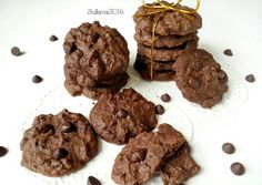 Double Chocolate Cookies Enak Renyah