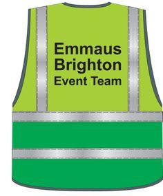 Team Emmaus - Brighton Event Team hi-fiz jacket