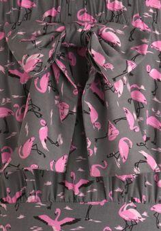#modcloth #flamingos