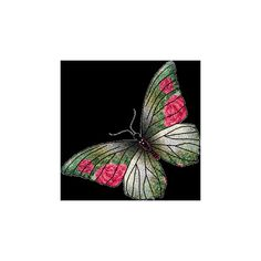 Butterfly Pink Glitter Graphics for Social Networking ❤ liked on Polyvore featuring butterflies, backgrounds, fillers, animals and mariposas