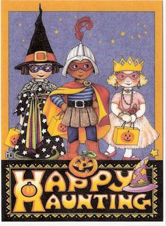 Happy Haunting Witch Knight Princess Costume Magnet Artwork By Mary Engelbreit