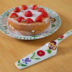 Flower Garden Plate & server #dinnerparties #tableware #artisan