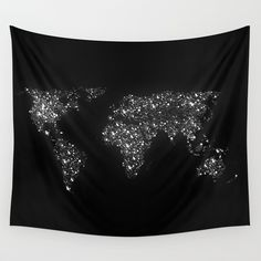 Tiny+light+spec+in+the+great+big+universe+Wall+Tapestry+by+Budi+Kwan+-+$39.00