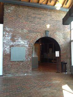 American Civil War Center - Donor Recognition Plaque at the Entrance to the Exhibit Halls Overview (left of archway)