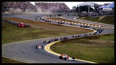 F1 25 de Marzo de 1990-Gran Premio de Brasil-Interlagos-Largada-(Photo by Rainer W. Schlegelmilch-Getty Images)