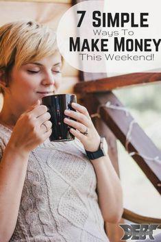 7 Simple Ways to Make Money this Weekend www.c… Making Money, Maki… 7 Simple Ways to Make Money this Weekend Ways To Save Money, Make More Money, Money Tips, Money Saving Tips, Make Money Online, Managing Money, Extra Cash, Extra Money, Wordpress
