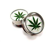 pot leaf plugs