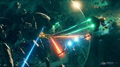 During Gamescom we've had a chance to witness the real-time demo of Everspace and talk a little with Michael Schade from ROCKFISH Games. The Expanse Ships, Space Games, Unreal Engine, Sci Fi Fantasy, Spacecraft, Game Design, Color Inspiration, Star Trek