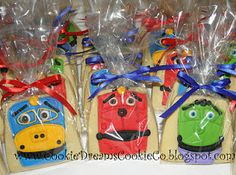 Chuggington cookies!