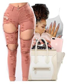 """""""#68: Which whip today?"""" by chilly-gvbx ❤ liked on Polyvore featuring Puma and CÉLINE"""