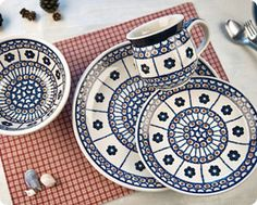Blue Rose Polish Pottery: Shop By Pattern