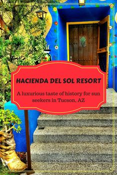 Hacienda Del Sol is a luxury resort in Tucson, Arizona with a wonderful history. John Wayne has slept here!