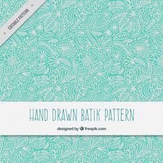 https://www.freepik.com/free-vector/hand-drawn-floral-ornamental-batik-pattern_1070561.htm#term=boho&page=4&position=34