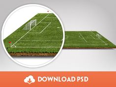 Freebie – Football Pitch PSD