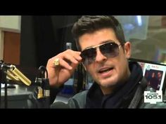Interview With Robin Thicke At The Breakfast Club Power 105.1 [Part 1]
