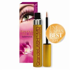 GrandeLASH-MD, If you want the appearance of spectacular long lashes or full eyebrows naturally, GrandeLASH-MD is the right product for you. This SAFE and PROVEN formula will help to improve the appearance of your eyelashes and eyebrows in LENGTH, FULLNES