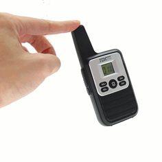 KALOAD X1 Mini Ultra Thin Walkie Talkie Frequency 400-470MHz 16 Channels Driving Hotel Civilian