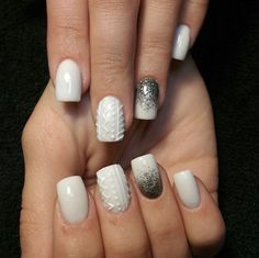 Sweater Nails 15