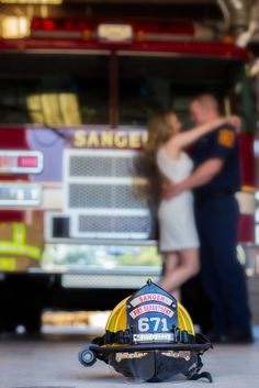 My firefighter engagement pics!! Love them!