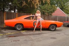 things I like I don't own any of them Trucks And Girls, Car Girls, General Lee Car, Dodge Muscle Cars, Mopar Girl, 1969 Dodge Charger, Hot Rides, Us Cars, American Muscle Cars