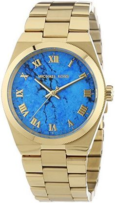 c0e9348acdcf Michael Kors Watches Collection 2018   2019   Michael Kors Channing Blue  Dial SS Quartz Ladies Watch   Read more at the. - Watches Topia - Watches   Best ...