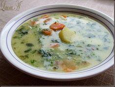 Ciorba de zarzavat (legume din belsug) | Retete Laura Adamache Cheeseburger Chowder, Food, Essen, Meals, Yemek, Eten