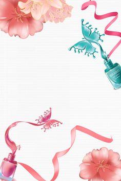 Fashion Nail Polish Beauty Poster Design, Fashion Poster, Nail Polish Poster, Be. - List of the best skin care Nail Salon Design, Nail Salon Decor, Yellow Nail Polish, Yellow Nails, Pink Nails, Nail Logo, Nail Designer, Poster Design, Nail Polish Designs