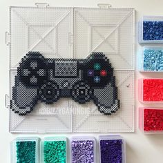 Perler Bead Templates, Diy Perler Beads, Perler Bead Art, Hama Beads Patterns, Beading Patterns, Pokemon, Minecraft Pattern, Minecraft Perler, Pixel Art