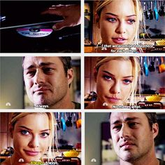 Shay: That we promise to be there for each other. Always. No matter what.  They always have been and always will be, although Shay had passed away. She will always be in Severide's heart and mind, and in ours.