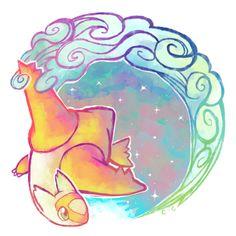 Latias ♡ More Gotta Catch, Animal 3, 90S Child, Legendary Pokemon, Gotta Pin, Pokemon Fanart, Rainbows Trail, Legendary Pokémon, Animal Animation Rainbow Trails by crayon-chewer.deviantart.com on @deviantART