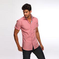 Jared Lang's Staten Island Shirt Red