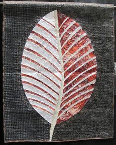 Turning a New Leaf by Tone Haugen-Cogburn.  2014 PIQF, photo by The Plaid Portico