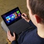 Microsoft Surface mini recognizes faces and is controlled by gestures #Surfacemini