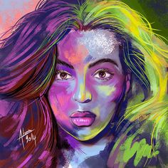 Speed painting colorés Speed Paint, My Works, Painting, Artwork, Fictional Characters, Voici, Logo, Work Of Art, Logos