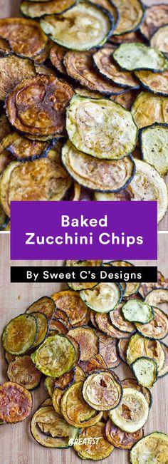Zucchini Carbs: Chips