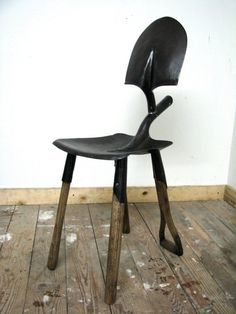 Awesome Shovel Chair. If you like this then check out the new Awesome Art Website! http://goo.gl/5NiFoI :-)