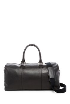 Image of Cole Haan Leather Duffle Leather Duffle Bag, Duffel Bag, Travel Must Haves, Ross Store, Fashion Essentials, Luxury Travel, Cole Haan, Nordstrom Rack, Gym Bags