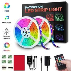 Boat Marine LED Strip Rope Light Kit RGB Color Change plus Controller