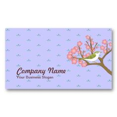 Japanese Cherry Blossoms Business Card