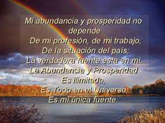 La abundancia y prosperidad son ilimitadas