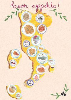 Travel illustrations by Emma Block