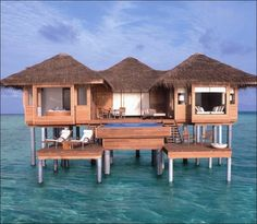 1 br  Maldives Beach Front Villa Vacation Rental: Maldives Luxurious Bungalow Villa