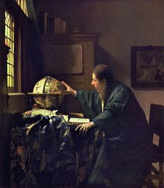 "Johannes Vermeer - ""The Astronomer"", c. 1668"