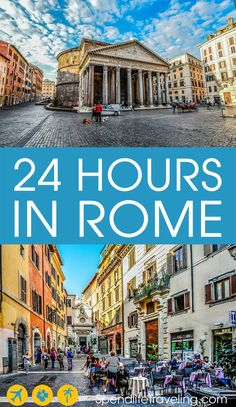 What to do in Rome in one day? I lived in Rome and fell in love with the city. This is my practical itinerary for the perfect short visit to Rome, Italy. Italy Travel Tips, Rome Travel, Travel Europe, Travelling Europe, Cinque Terre, Rome In A Day, Places To Travel, Travel Destinations, Italy Travel