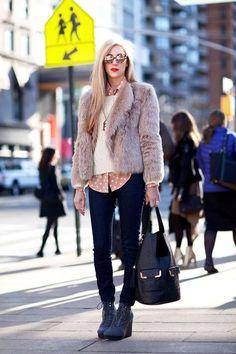 fur coats - street style (12)