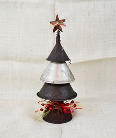 Hey, I found this really awesome Etsy listing at https://www.etsy.com/listing/214737055/small-metal-vintage-funnel-christmas
