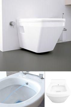 Toaleta myjąca AquaDuo Neptun 5201 świetnie spełni swoje zadanie w małych łazienkach np. w biurze, zapewniając jednocześnie wszystkie zalety tradycyjnej muszli WC i wbudowanego bidetu z dyszą regulowaną w zakresie aż 360°. #muszlamyjąca #toaletamyjąca #toaletazbidetem #toaleta2w1 Bathtub, Bathroom, Standing Bath, Washroom, Bathtubs, Bath Tube, Full Bath, Bath, Bathrooms