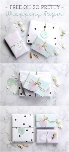 free printable wrapping paper in pretty pastel colours (scheduled via http://www.tailwindapp.com?utm_source=pinterest&utm_medium=twpin&utm_content=post6472850&utm_campaign=scheduler_attribution)