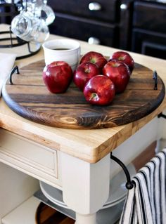 20 Best Wood Lazy Susans Images In 2019 Lazy Susan Wood Dining